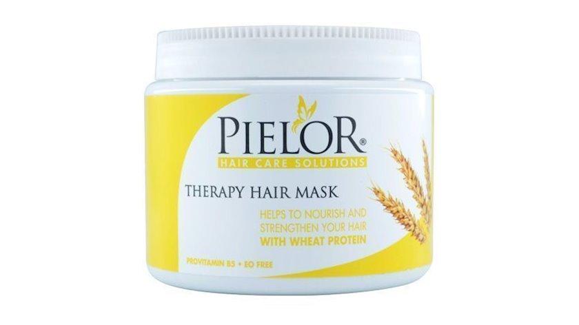 Saçlar üçün maska Pielor buğda zülalı ilə, 500 ml