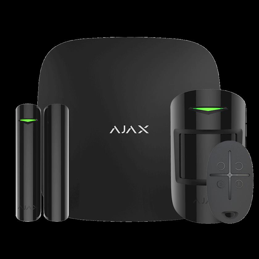 Simsiz siqnalizasiya Ajax StarterKit Black