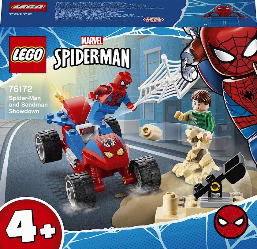 "Konstruktor Lego Super Heroes ""Схватка Человека-Паука и Песчаного Человека"""
