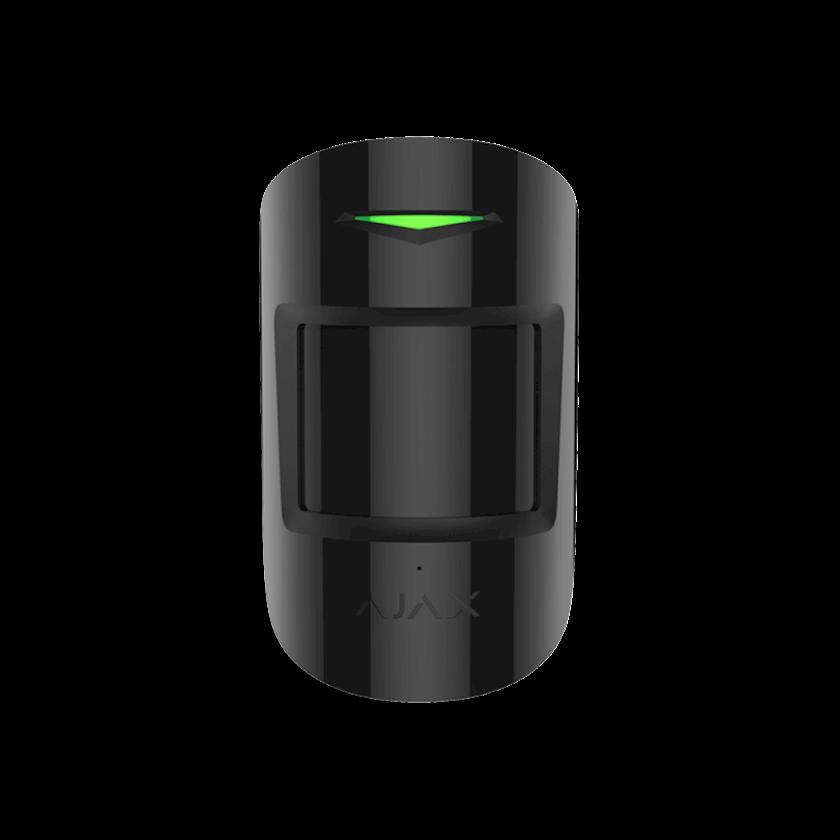 Simsiz hərəkət və şüşə qırılma sensoru Ajax CombiProtect Black