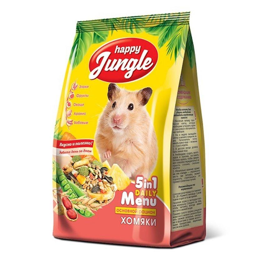 Dağsiçanıları üçün yem Happy Jungle, 400 q