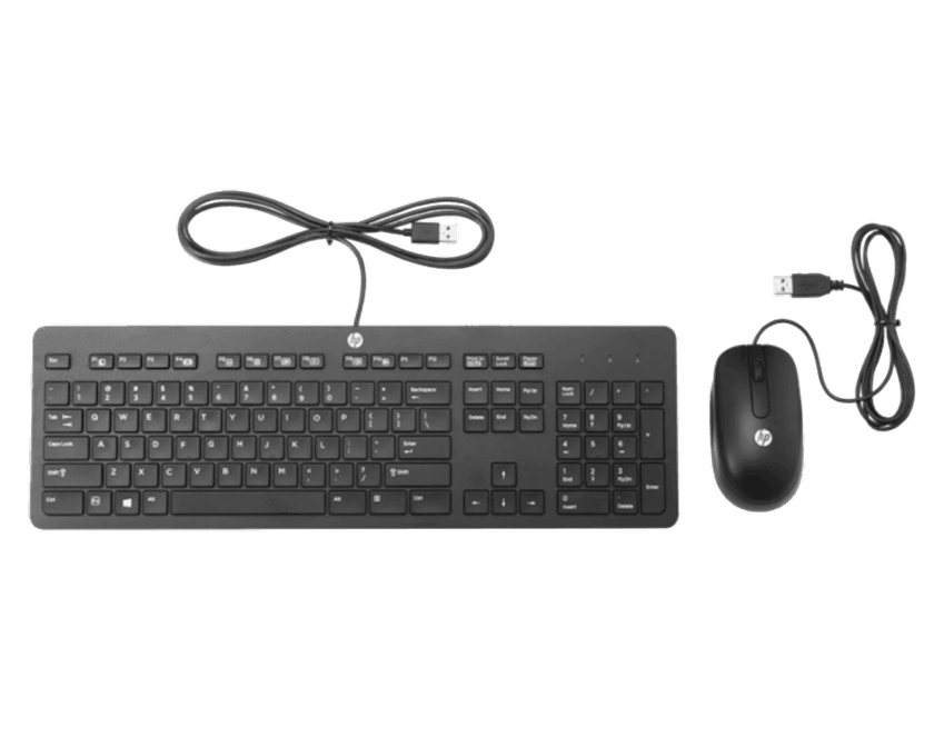 İncə USB Klaviatura və Siçan HP