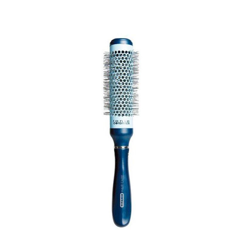 Saç üçün braşinq Titania Professional Hair Care Ceramic Hair Brush 1676