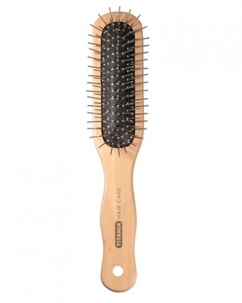 Saç fırçası Titania Professional Hair Care Wooden Brush 2826