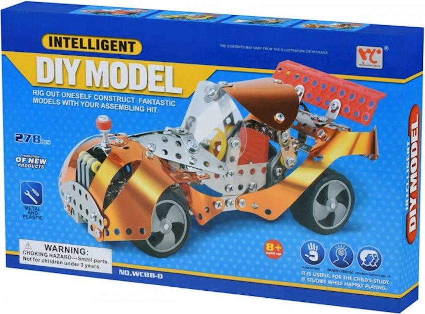Metal konstruktor Same Toy Inteligent DIY Model, 278 element, 8+ yaş, metal/plastik