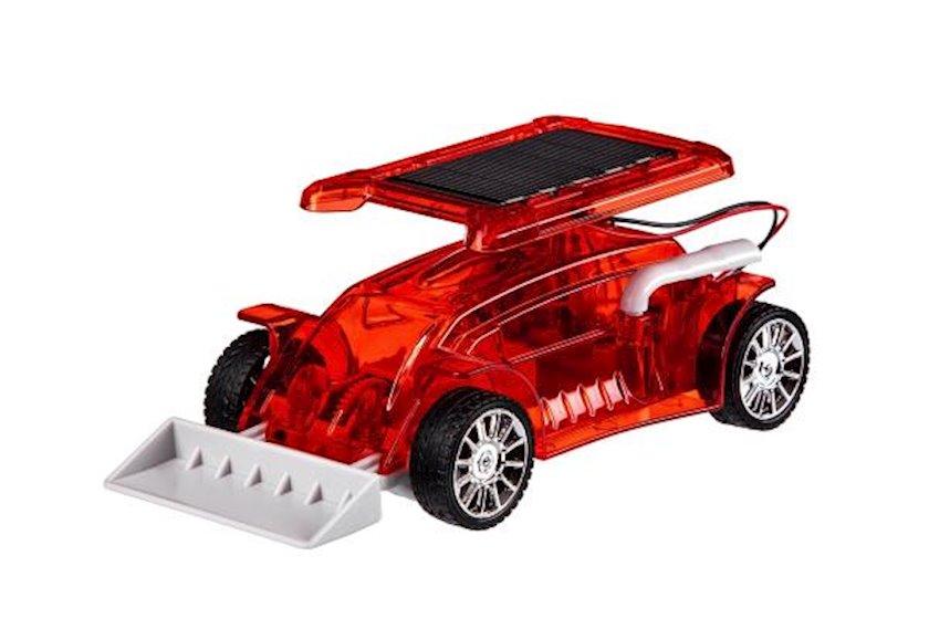 Robot konstruktor Same Toy Bulldozer, günəş enerjisi ilə işləyir, 10+ yaş, qırmızı, 25х19х5 sm