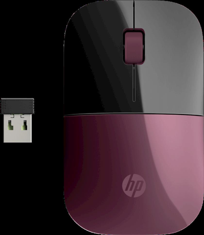 Simsiz Siçan HP Z3700 Simsiz Mouse Berry Mauve Usb