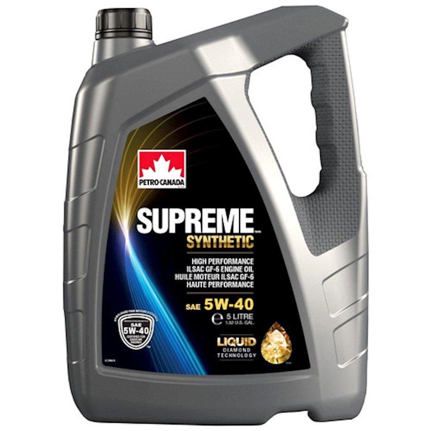 Mühərrik yağı Petro-Canada Supreme Synthetic 5W-40 4 l