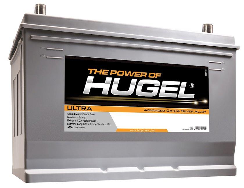 Avtomobil akkumulyatoru Hugel Ultra 90Ah, L+, 750A, (SAE)