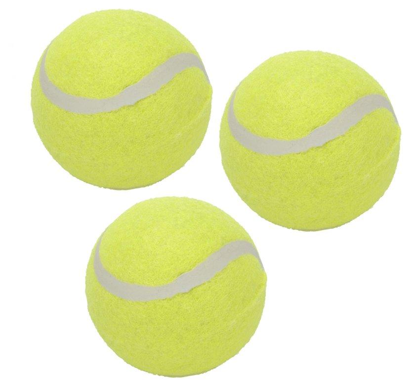 Tennis topları Koopman Free and Easy 6 sm, 3 ədəd, sarı