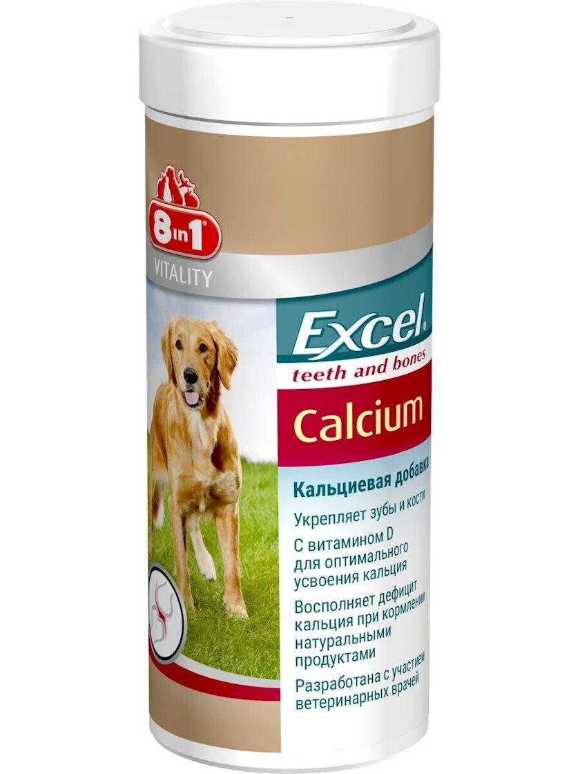 Vitaminlər 8 in 1 Excel Calcium itlər üçün, 470 həb