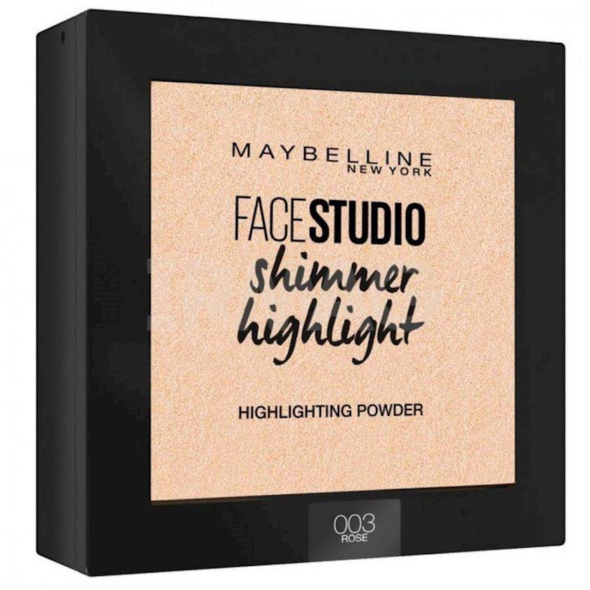 Haylayter Maybelline New York Face studio 003 Перламутр 9q