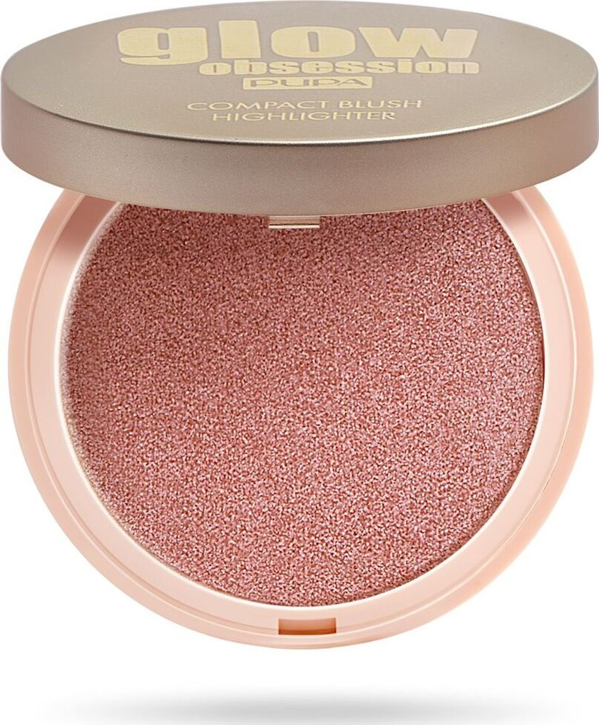 Haylayter Pupa Glow Obsession Compact Blush Highlighter 003 4.5q