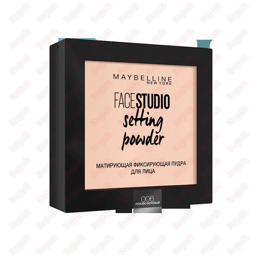 Kompakt kirşan Maybelline New York Face Studio Setting 006 Çəhrayı bej 9 q
