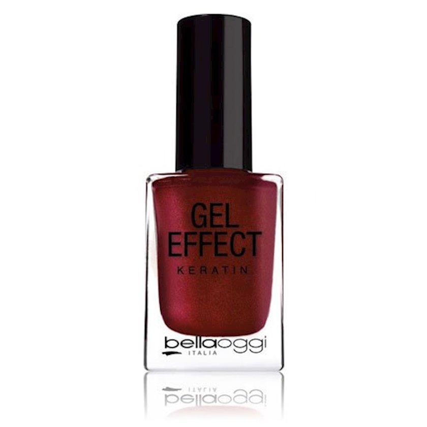 Gel-lak dırnaq üçün Bellaoggi Gel Effect 11 Fire Red
