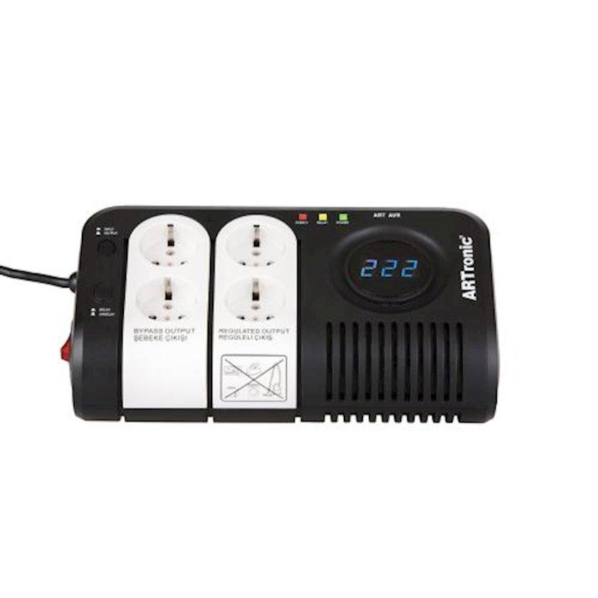Ups Artronic  AVR 500ВА ArtAVR500, tək fazlI, qara, 500 Vt