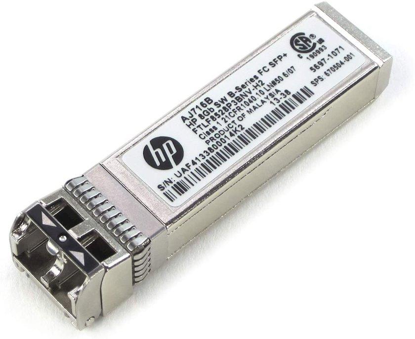 Transiver HPE 8Gb Short Wave B-Series SFP+ 1 Pack AJ716B