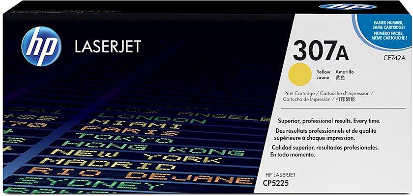 Kartric HP 307A CE742A Sarı