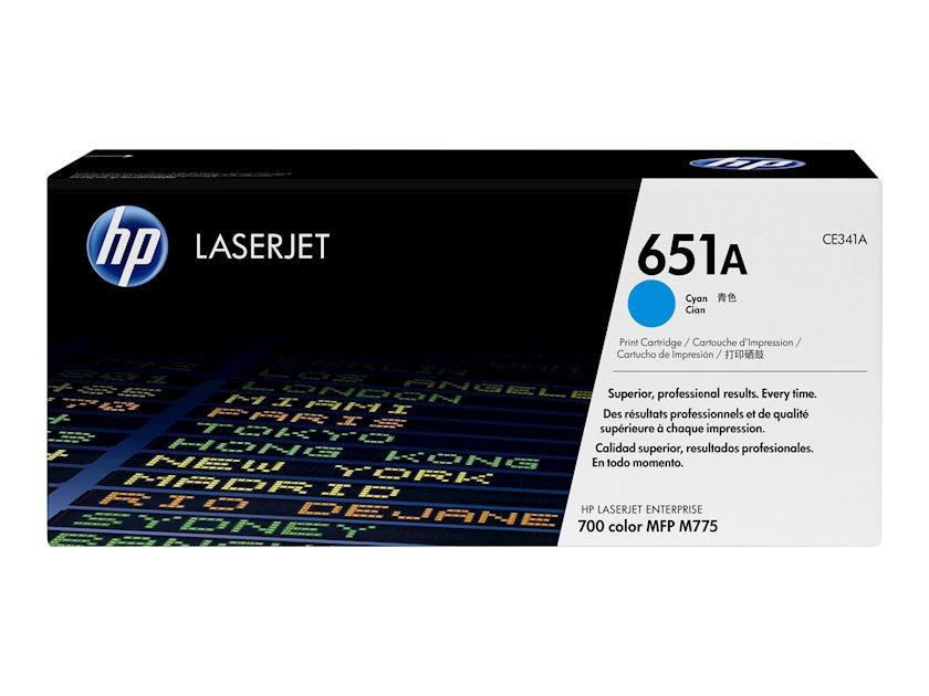 Kartric HP 651A CE341A Mavi