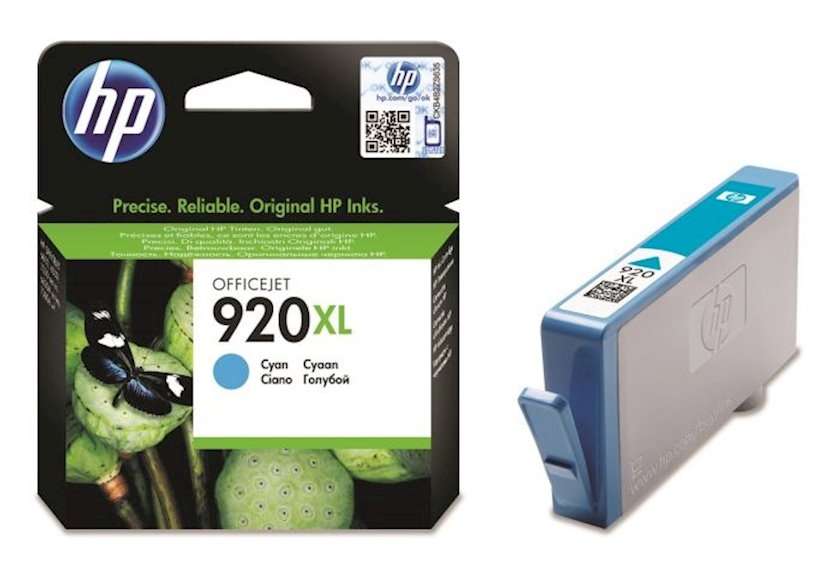 Kartric HP 920XL CD972AE Mavi