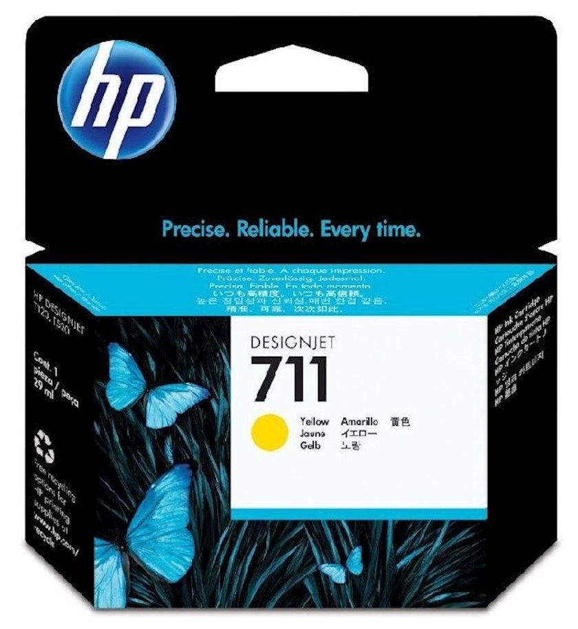 Kartric HP 711 CZ132A Sarı