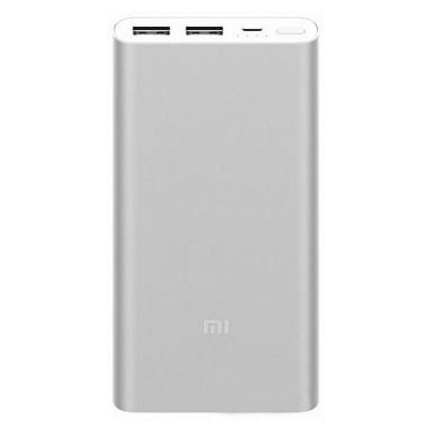 Xarici batareya Xiaomi Mi Power Bank 2i (10000mAh, gümüşü)