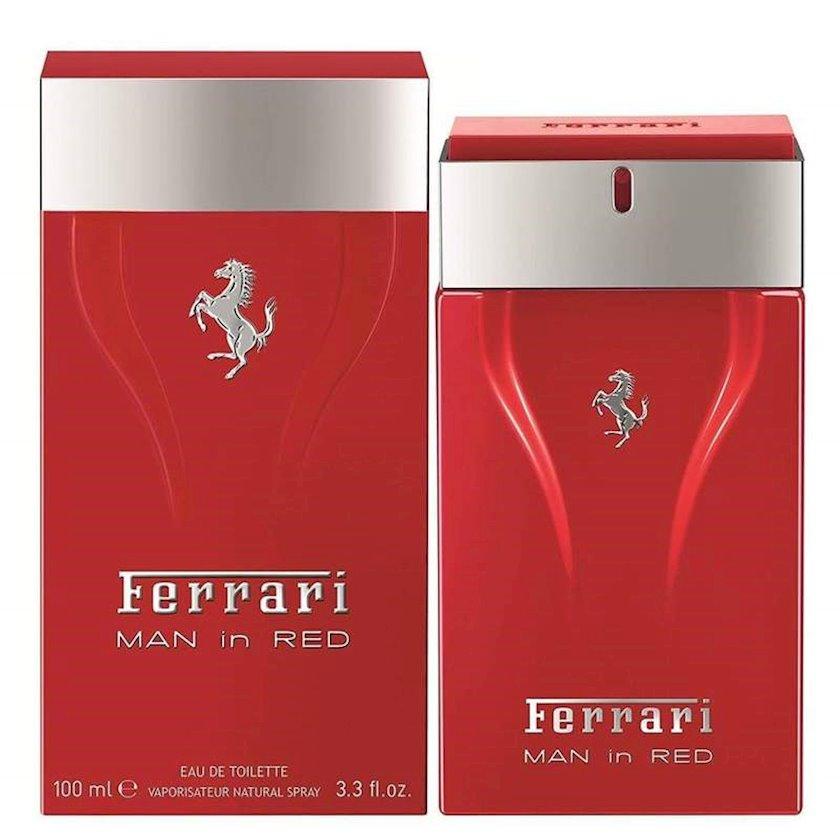 Kişilər üçün tualet suyu Ferrari Cavallino Man Red 100ml