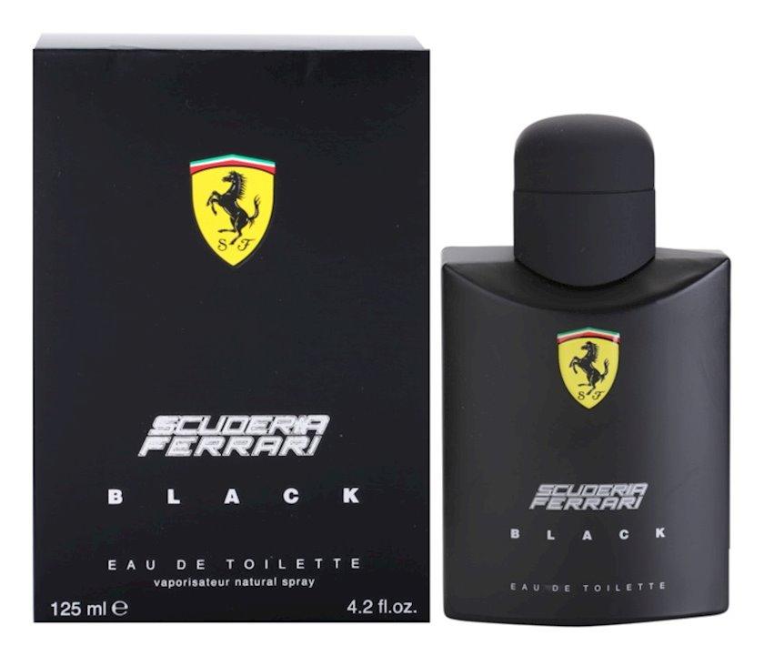 Kişilər üçün tualet suyu Ferrari Scuderia Black 125ml