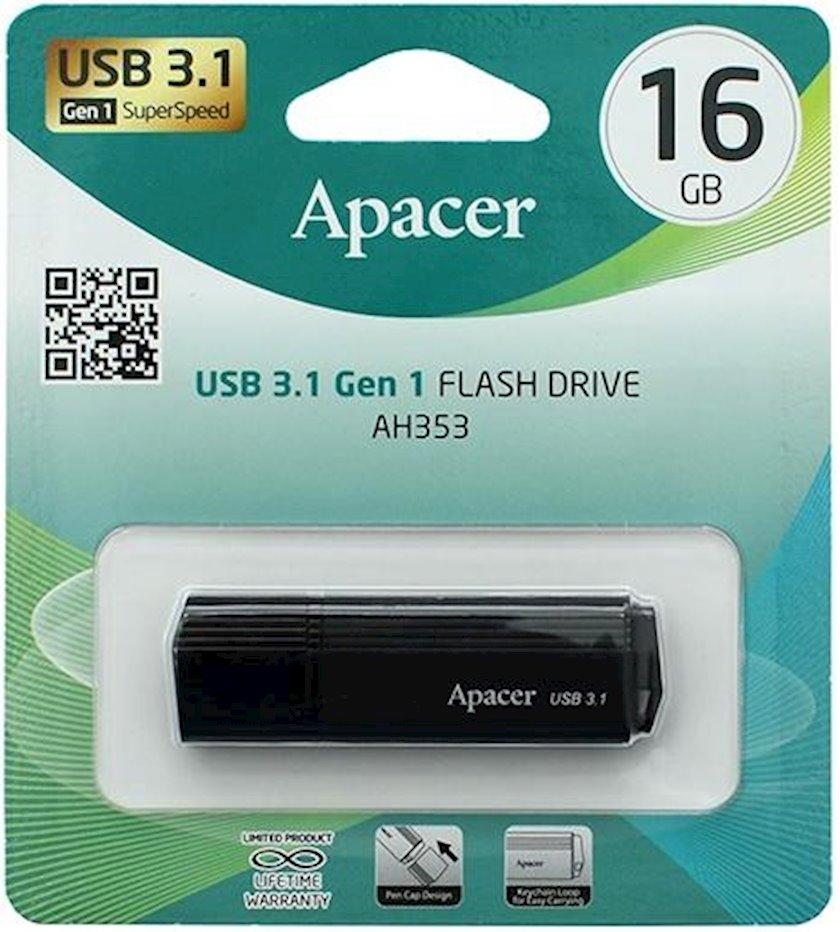 Fləş kart Apacer USB 3.1 Gen1 AH353 Black 16 Gb