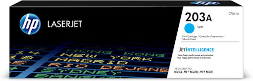 Kartric HP 203A CF541A Mavi