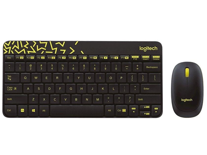 Klaviatura və sıçan dəsti Logitech Wireless Combo MK240
