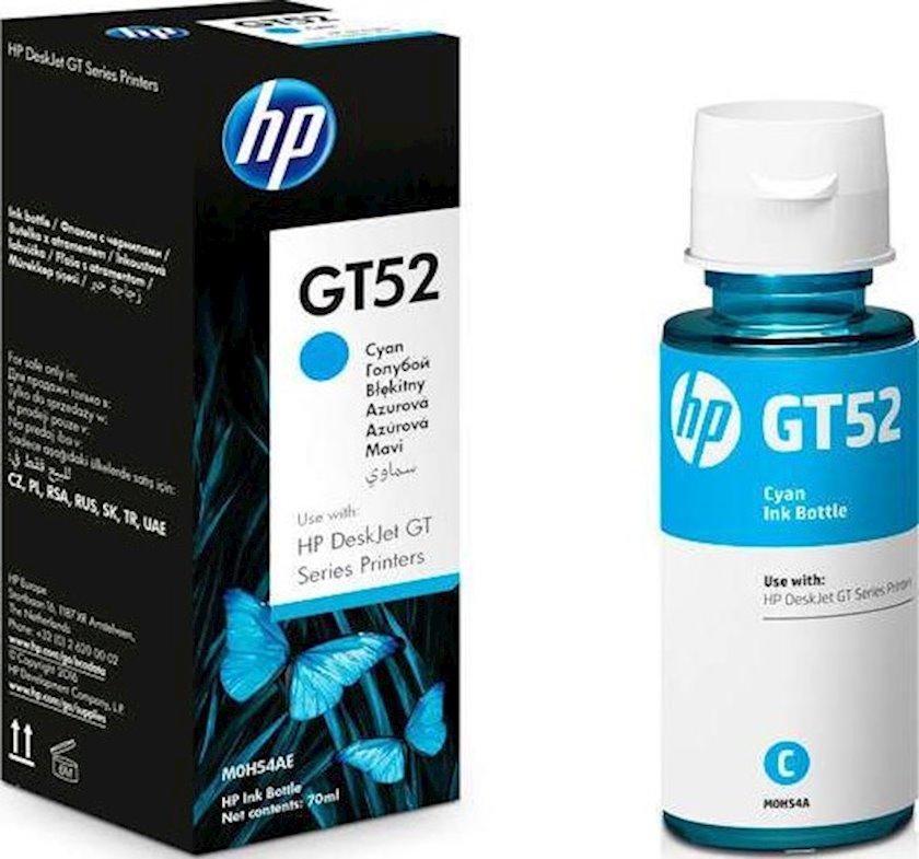 Mürəkkəb HP GT52 M0H54AE Mavi