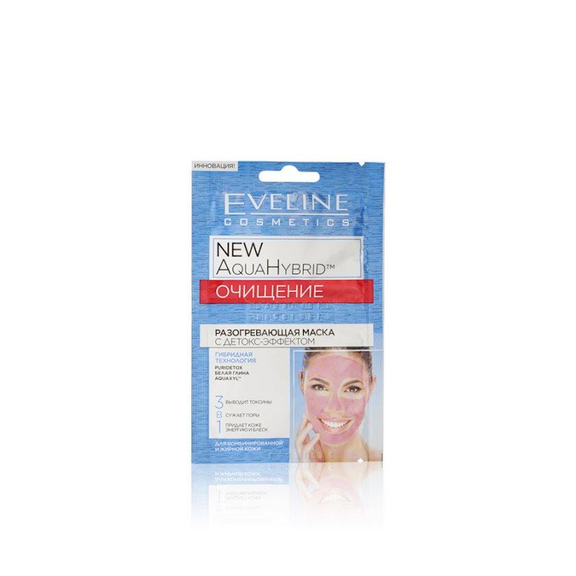 Detoks təsirli isidici maska Eveline Cosmetics New Aqua Hybrid Detox Mask