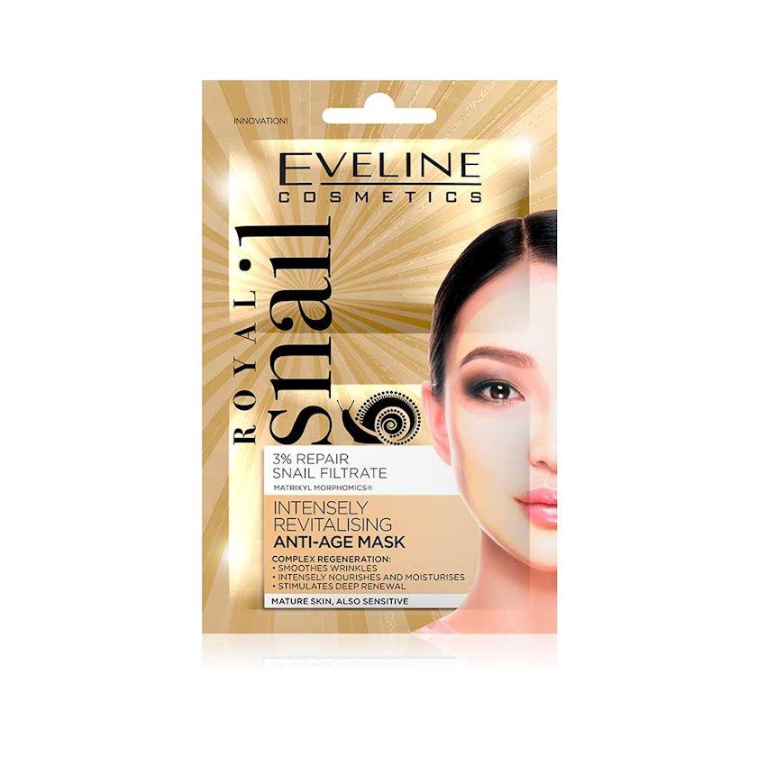 Maska üz üçün  Eveline Cosmetics Royal Snail Anti-Age Mask Intensively Revitalizing Firming yaşlanmaya qarşı canlandırıcı