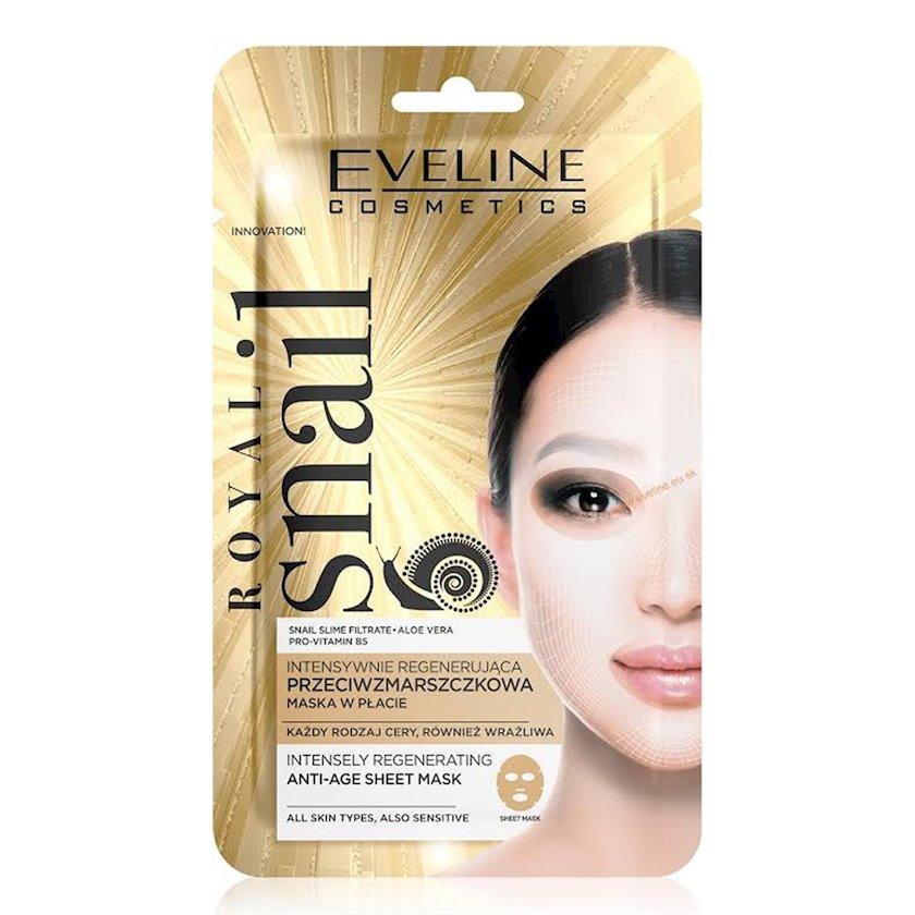 Parça-maskaüz üçün  Eveline Cosmetics Royal Snail Anti-Age Mask İntensiv bərpaedici