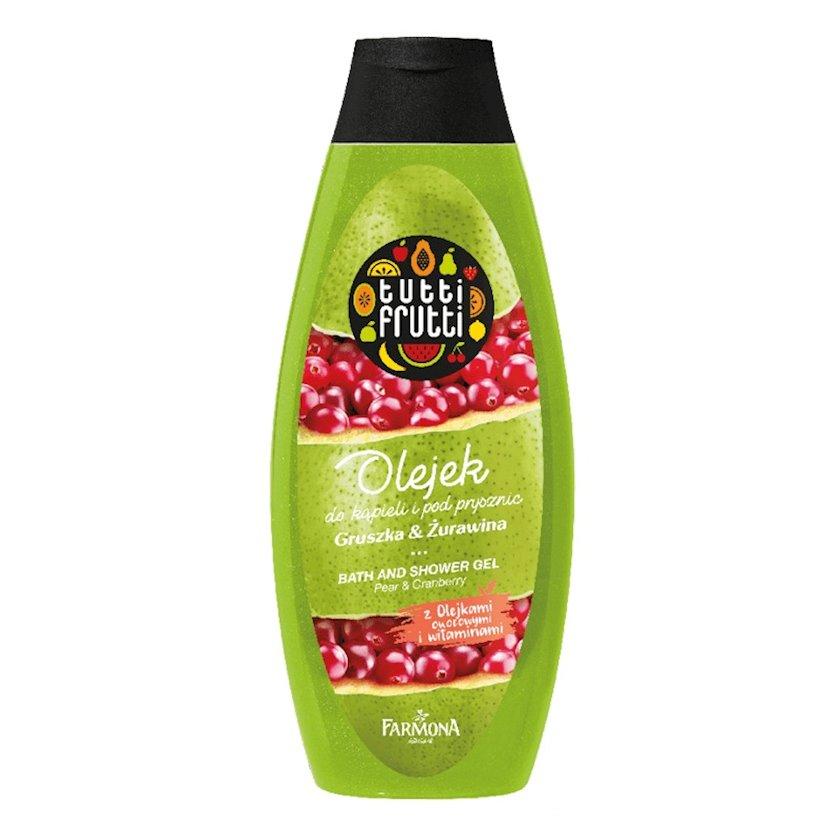 Duş geli Farmona Tutti Frutti Karamel və Armud və Mərcanı 425 ml