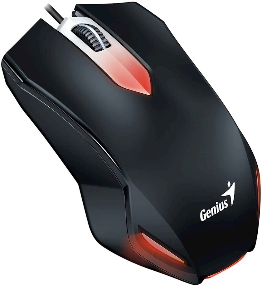 Kompüter siçanı Game Genius X-G200 USB Gaming Black