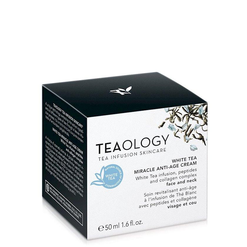 Krem gözətrafı dəri üçün Teaology White Tea Miracle 50 ml