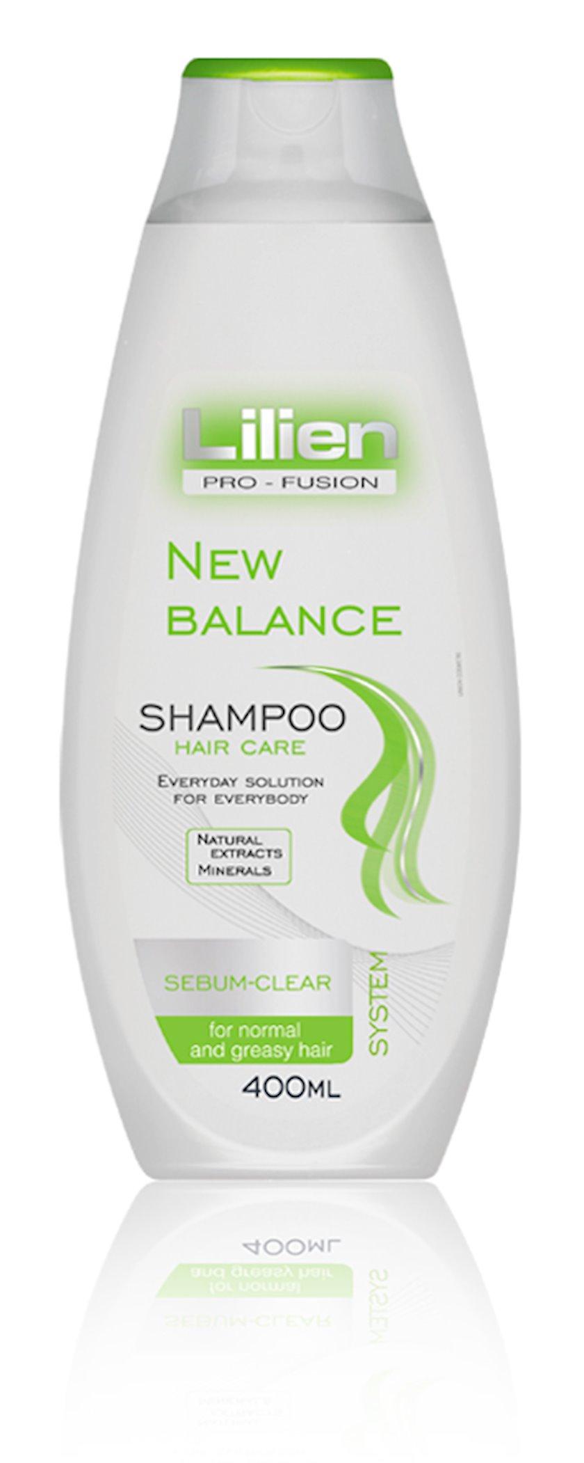 Saç şampunu Lilien Balans bərpası 400 ml