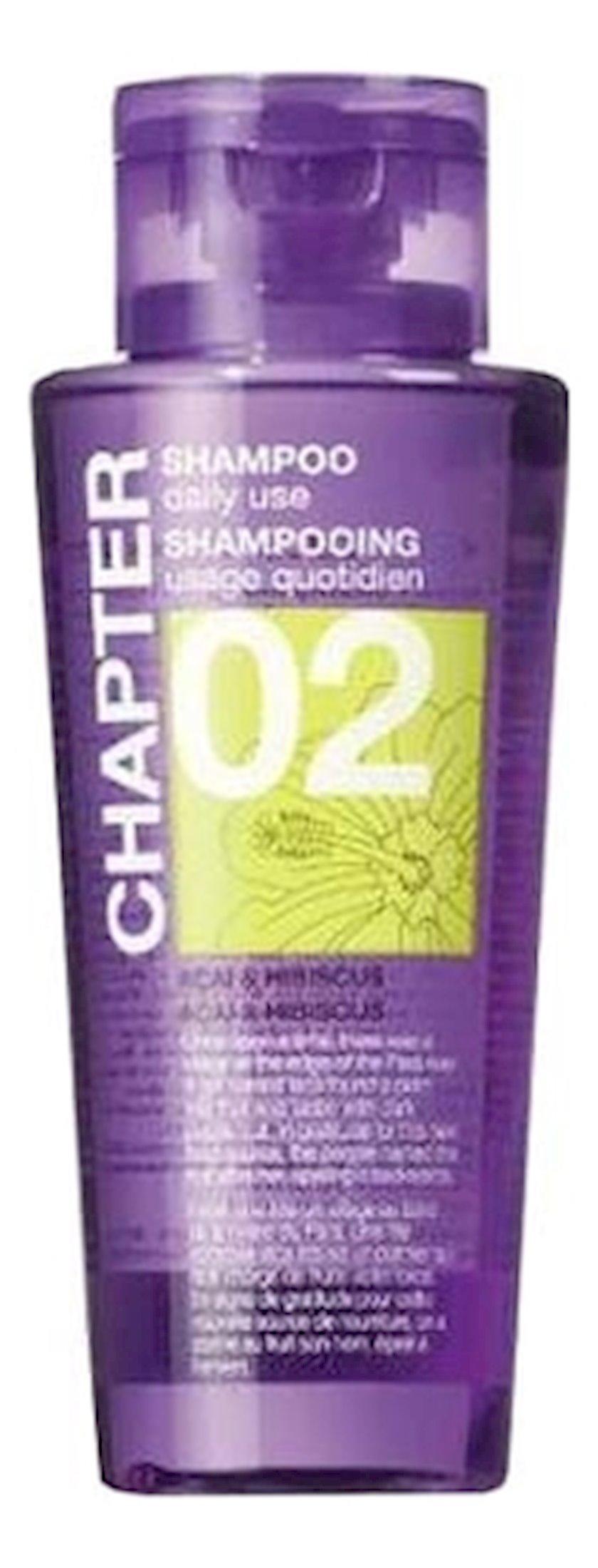 Saç şampunu Mades Cosmetics Chapter 2 Asai giləmeyvələri və hibiskus ətri ilə 400 ml