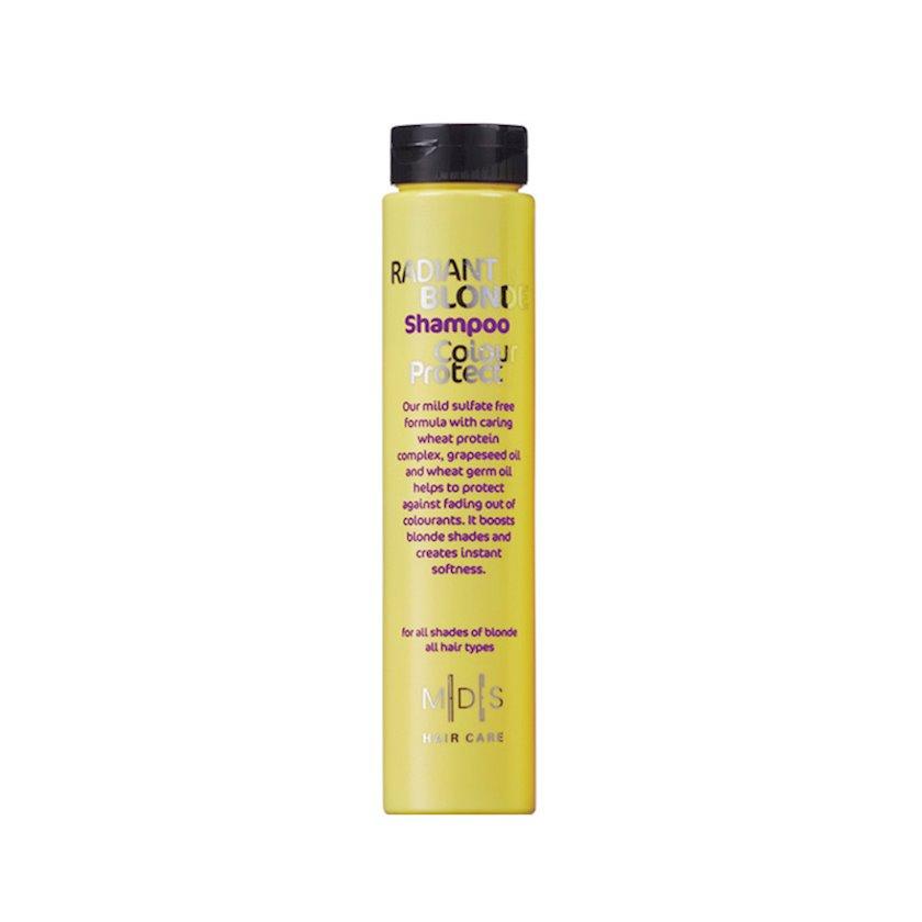 Saç şampunu Mades Cosmetics Parlaq sarışın: Gümüş 250 ml