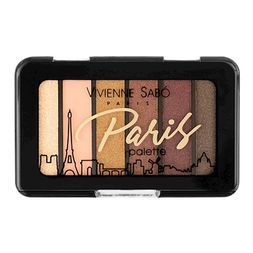 Göz kölgələri paleti Vivienne Sabo Eyeshadow Mini Palette Paris №02
