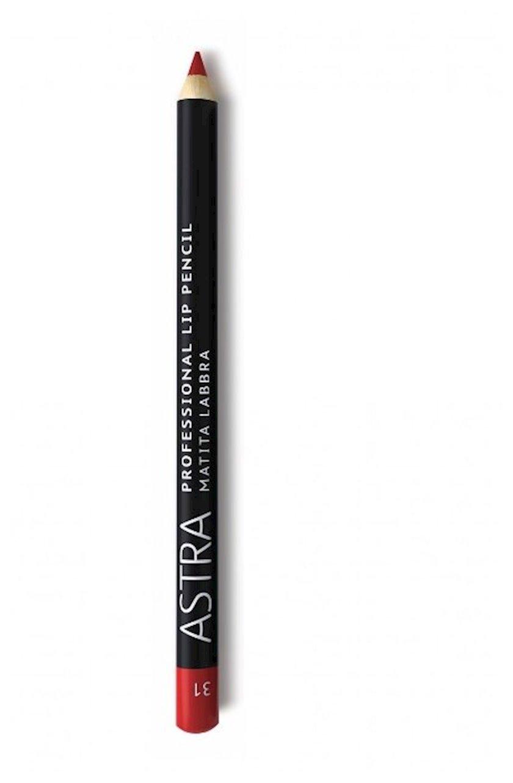 Dodaq üçün qələm Astra Make-up Professiona Lip Pencil 31 Red Lips 1.1 q