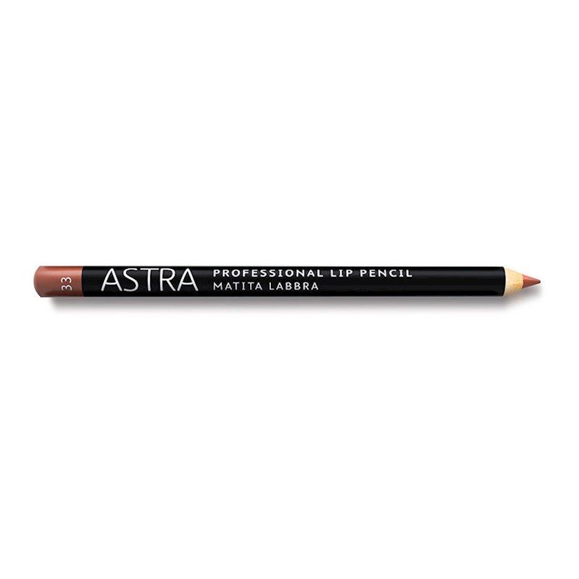 Dodaq üçün qələm Astra Make-up Professiona Lip Pencil 33 Pink Lips 1.1 q