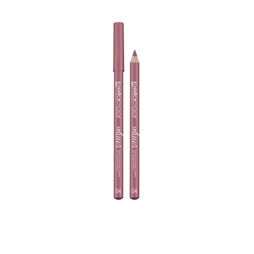 Dodaq üçün qələm Bellaoggi Lip Liner Matita Labbra Mat 04 Soft Pink