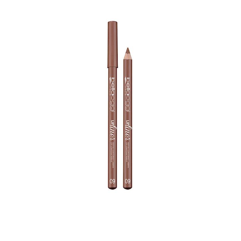 Dodaq üçün qələm Bellaoggi Lip Liner Matita Labbra Mat 09 Brown