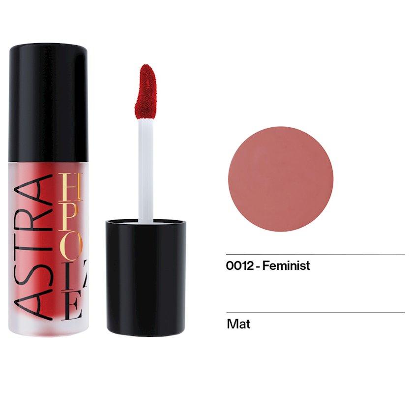 Maye pomada Astra Make-up Hypnotize Liquid Lipstick 12 Feminist 4 ml