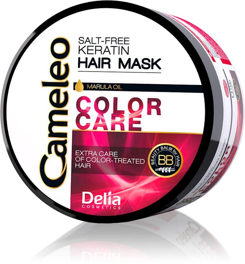 Keratin maskası Delia Cosmetics Cameleo Saçların Rəngdən qorunma 200 ml