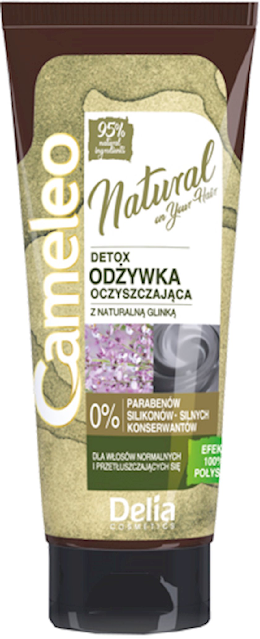 Saç kondisioneri Delia Cosmetics Cameleo Detox Təmizləyici  200 ml
