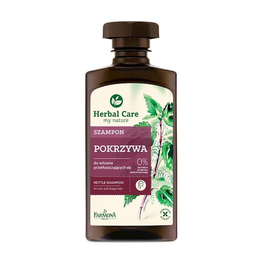 Yağlı saçlar üçün şampun Farmona Herbal Care Nettle 330 ml